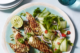 Meat on a stick recipes for Australia Day