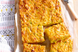 Ham, Cheese and Veggie Bake