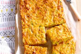 Ham, Cheese and Veggie Bake
