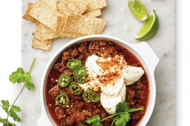 Beef and bean chilli
