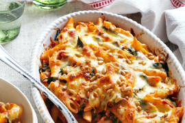 Creamy pasta bake recipes