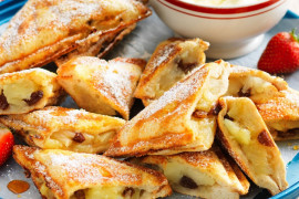 Apple pie jaffles