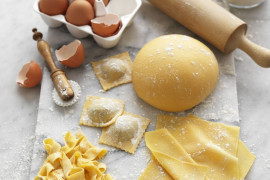 How to make pasta from scratch without a machine