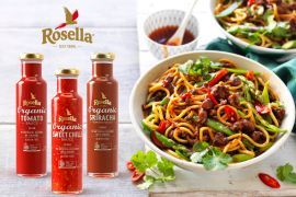 Rosella launches new organic sauces