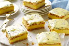 How to make Australian vanilla custard slice