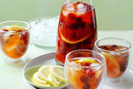 Mocktail recipes - fruity, alcohol free party drinks