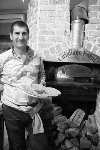 Peter Zuzza pizza chef