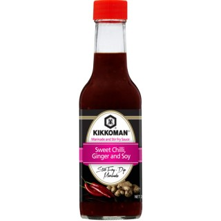 Kikkoman Sweet Chilli Ginger and Soy Marinade & Stir Fry Sauce