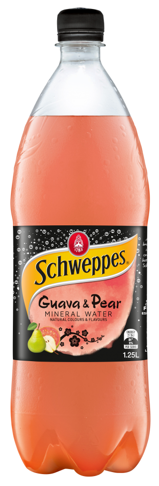 Schweppes Guava & Pear Mineral Water