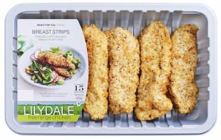 Lilydale Free Range Breast Schnitzel Strips