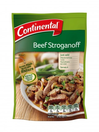Continental Beef Stroganoff Recipe Base