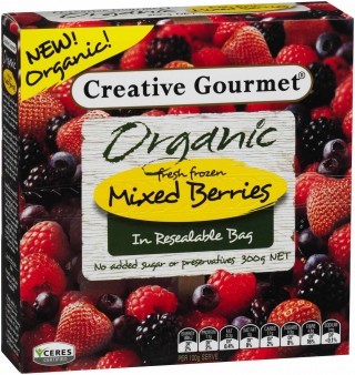Creative Gourmet Organic Mixed Berries