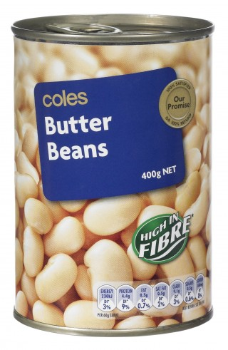 Coles Butter Beans