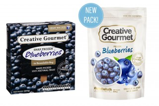 Creative Gourmet Blueberries
