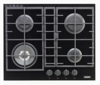GAS ON GLASS COOKTOP (INCLUDING WOK)