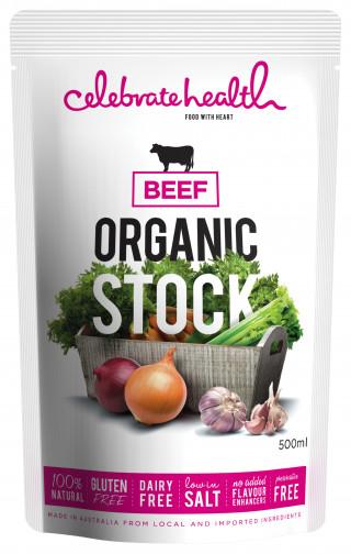 Celebrate Health Organic Beef Stock