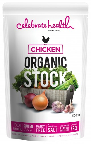 Celebrate Health Organic Chicken Stock