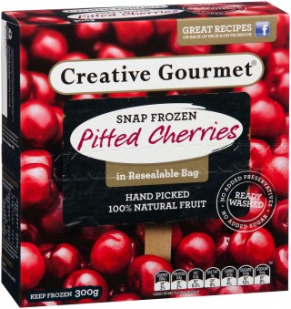 Creative Gourmet pitted cherries