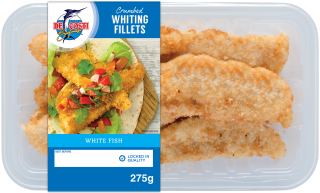 De Costi Crumbed Whiting Fillets