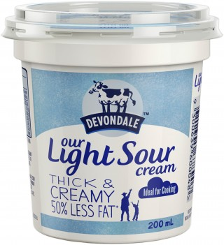 Devondale Light Sour Cream