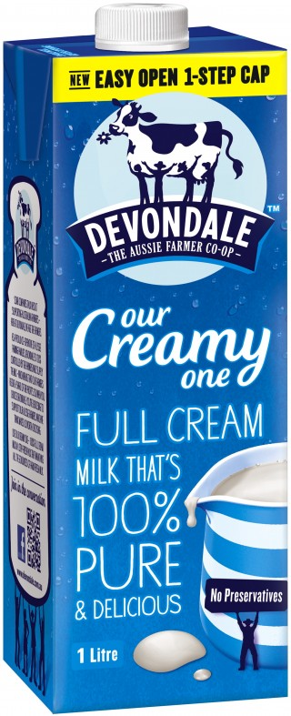 Devondale Long Life Full Cream Milk