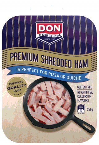 DON Shredded Ham great for pizza