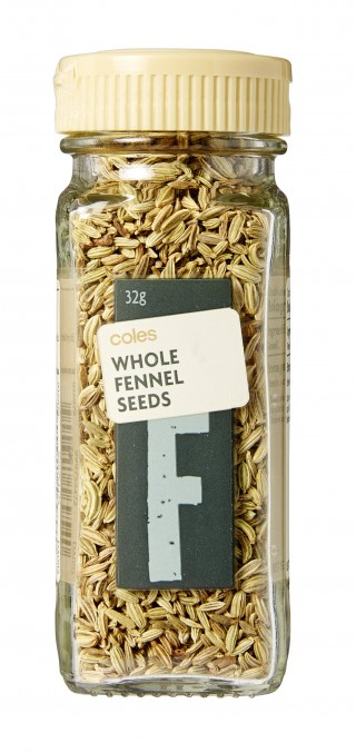 Coles Whole Fennel Seeds