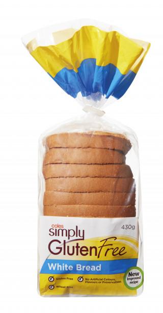 Coles Gluten Free White Bread