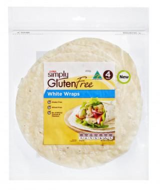 Coles Gluten Free White Wraps
