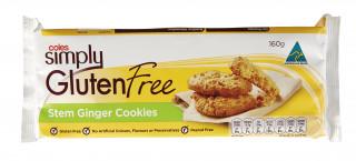 Coles Gluten Free Stem Ginger Cookies