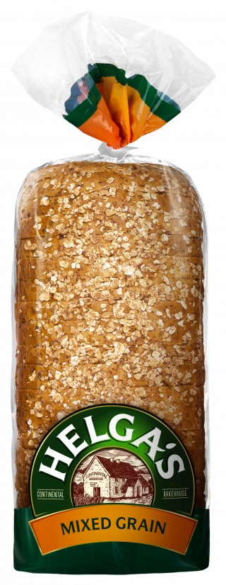 Helga's Mixed Grain Bread