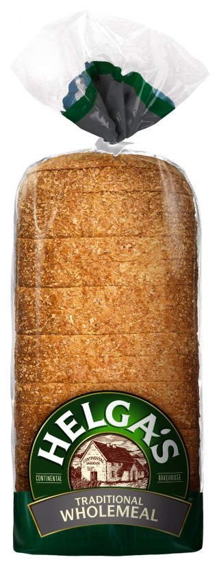 Helga's Traditional Wholemeal Bread