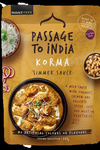 Passage To India Korma Sauce