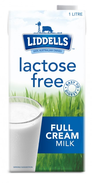 Liddells Lactose Free Full Cream Milk