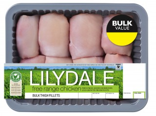 Lilydale Free Range Bulk Chicken Thigh Fillet