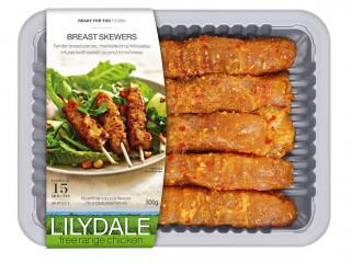 Lilydale Free Range Chicken Breast Skewers with Sweet Coconut Satay Marinade