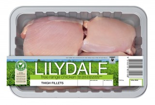 Lilydale Free Range Chicken Thigh Fillet