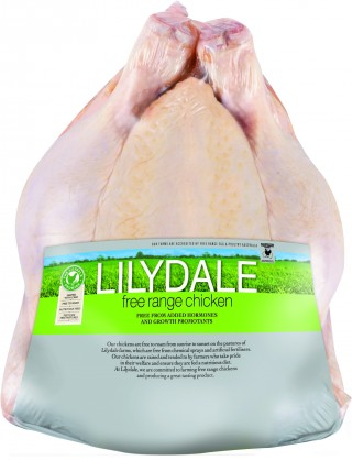 Lilydale Free Range Whole Chicken