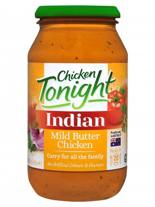 Chicken Tonight Butter Chicken Simmer Sauce