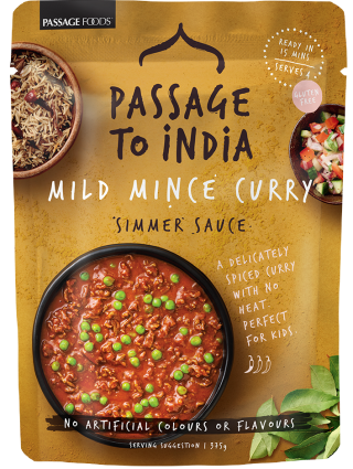 Savoury Mince Curry Sauce Passage to India