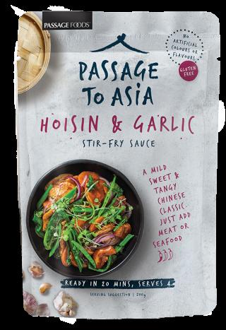 Passage to Asia Hoisin and Garlic Stir-Fry Sauce