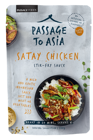 Passage to Asia Satay Chicken sauce shop