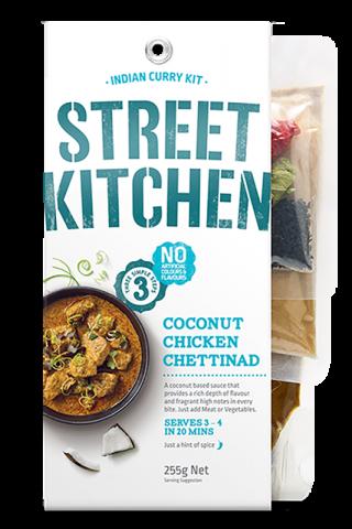Street Kitchen Coconut Chicken Chettinad Scratch Kit