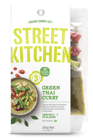 Street Kitchen Thai Green Curry
