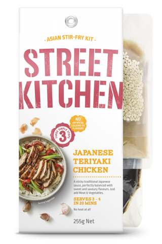 Street Kitchen Japanese Teriyaki Chicken Scratch Kits where to buy