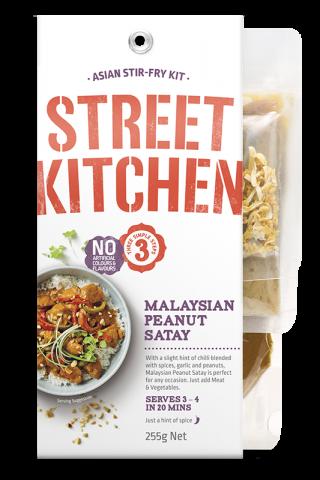 Street Kitchen Malaysian Peanut Satay