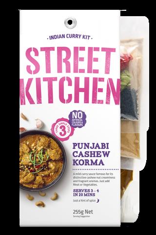 Street Kitchen Punjabi Cashew Korma