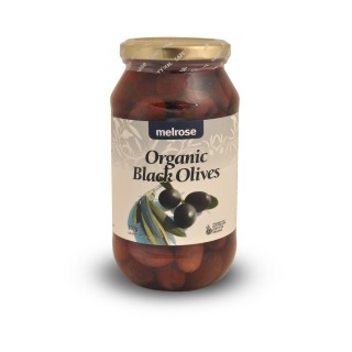 Melrose Organic Black Olives