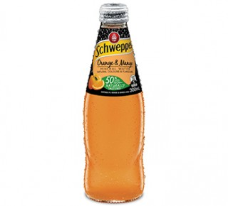 Orange and Mango Mineral Water
