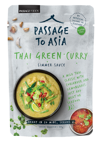 Passage to Asia Thai Green Curry recipe